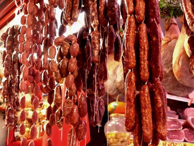 embutidos y carnes procesada