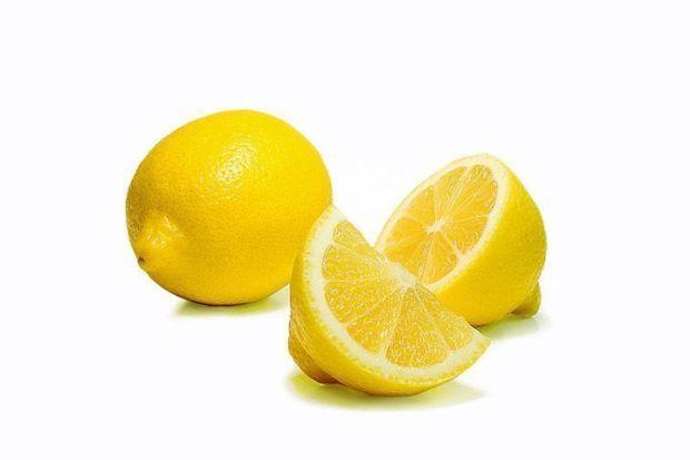 Limones cortados