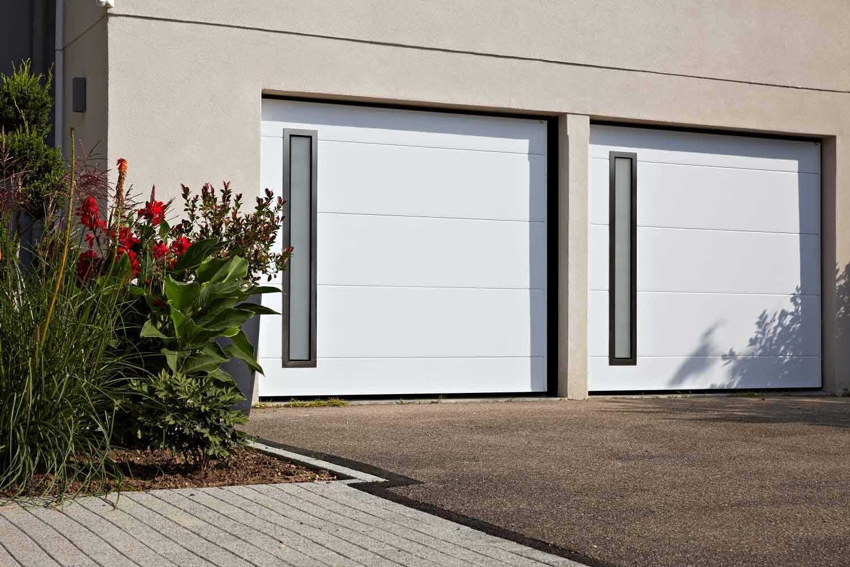 Porte De Garage Basculante Moos Comboos Ecotherme