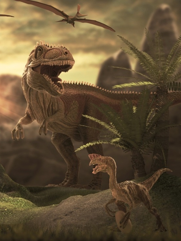 Dinosaurios gigantes, demasiado jóvenes para morir viejos