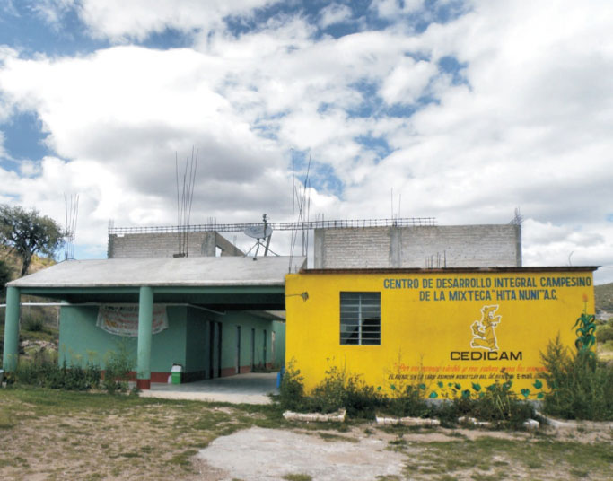 Facilities of the Center for Integral Farmer Development in Nochixtlán, Oaxaca