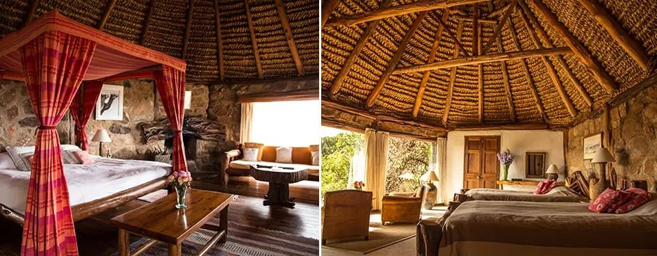 Kenya Borana Conservancy Camp EcoTraining Lodge Rooms