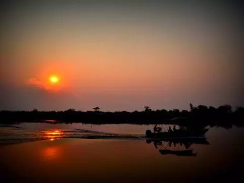 The Stanley & Livingstone Private Game Reserve Sunset