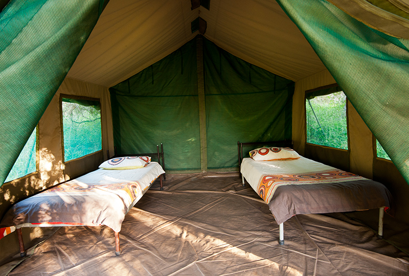 Karongwe Game Reserve, South Africa Accommodation Tent interior