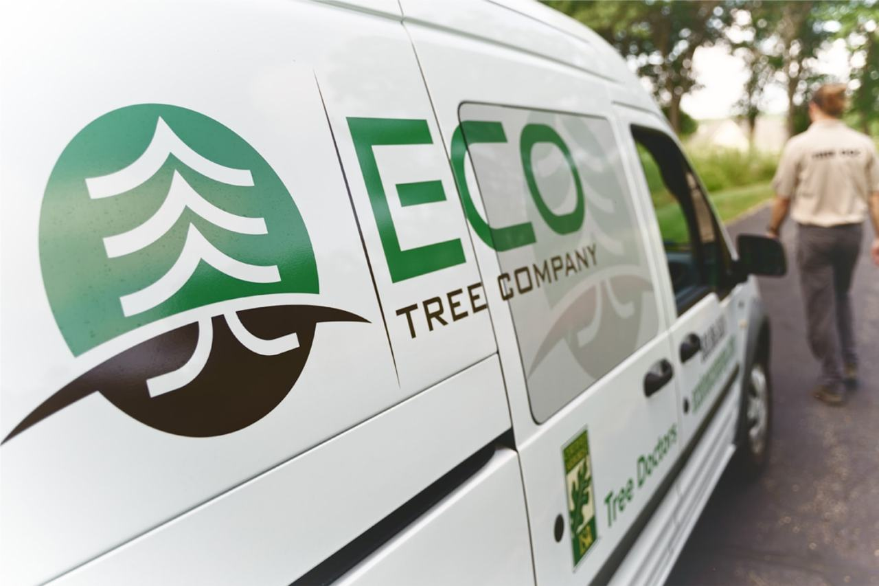 Eco Tree Company truck
