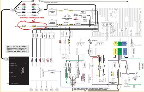 Clarion Wiring Harness Diagram Nilzanet – Clarion Xmd1 Wiring Diagram