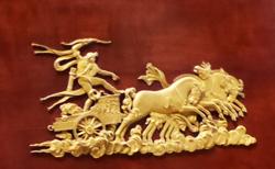 bronzes meuble Empire Louvre ecoutelebois