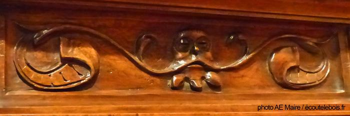 décor chaire XVI renaissance