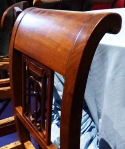 dossier chaise enroulé 1795 ecoutelebois