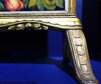 écran de cheminée Paul Follot rose art-déco ecoutelebois