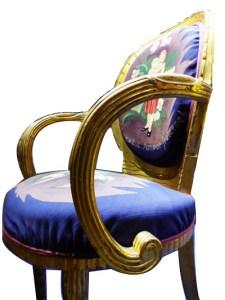 fauteuil Leonetto Cappiello Gobelins ecoutelebois