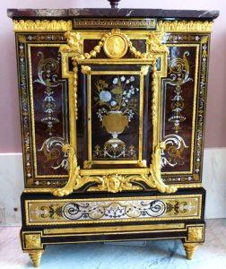 meuble marqueterie Boulle 1ere partie Louvre