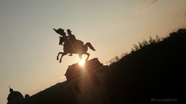Statue Hofburg Vienna