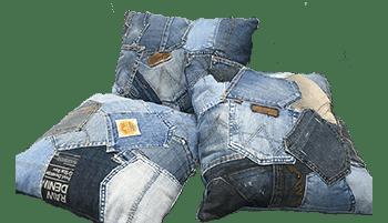 Social Jeans kussens