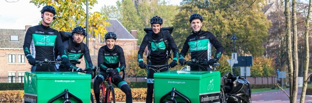 De bezorgers van GroenBezorgen.com