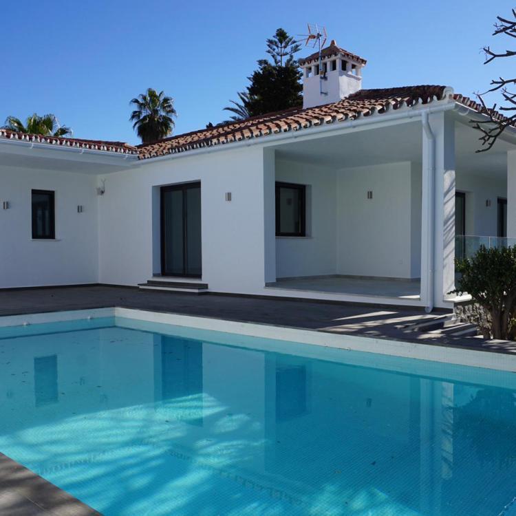Complete villa refurb Marbella