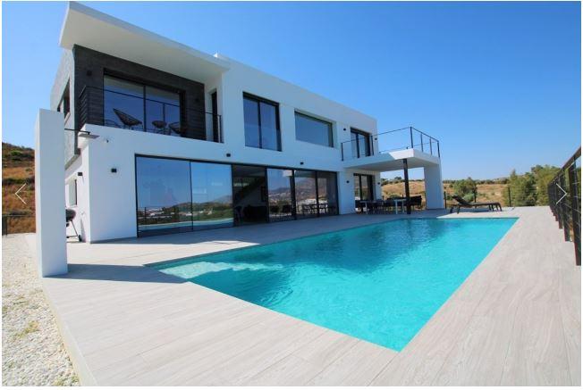 A villa design realised in Mijas, Spain