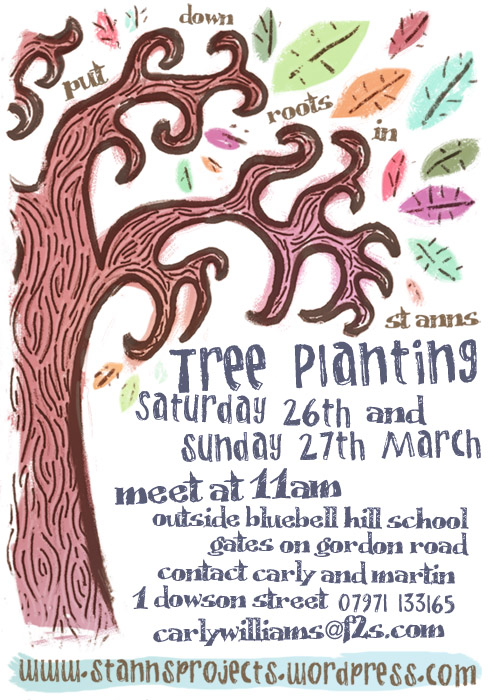 st. anns tree planting