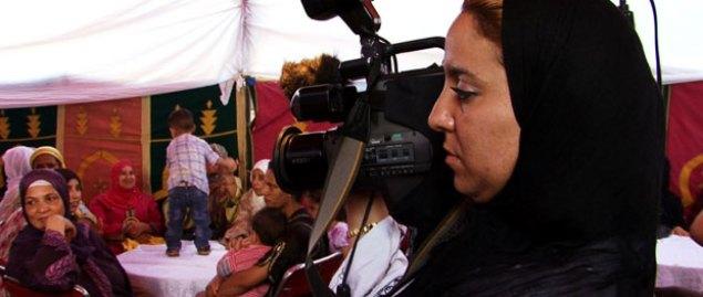 La femme à la caméra