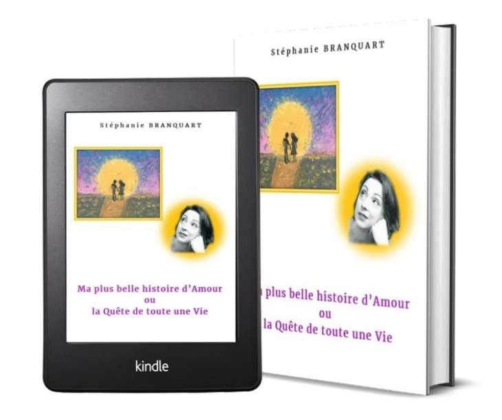 Le livre de Stéphanie Branquart disponible en version physique ou en e-book