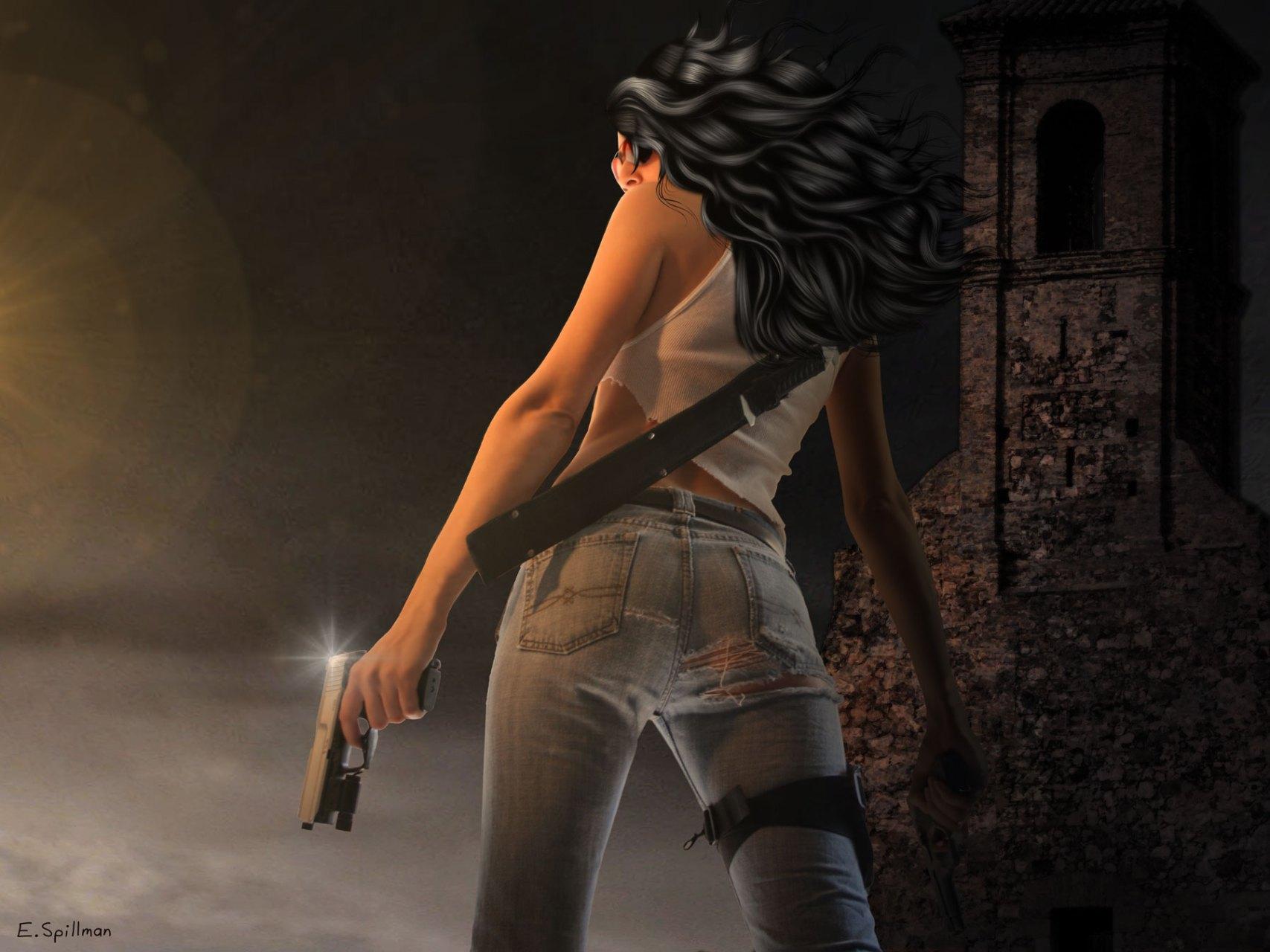 Zombie Hunter by E.C. Spillman