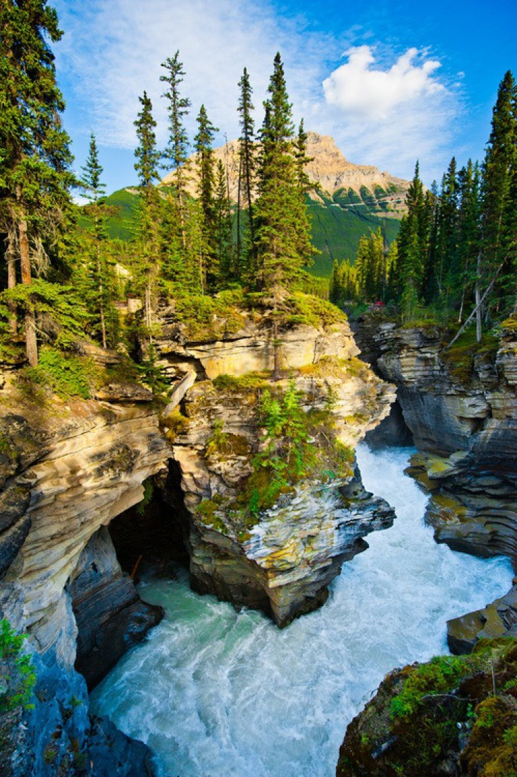 Banff national park is one of the most beautiful places for Prettiest places in canada