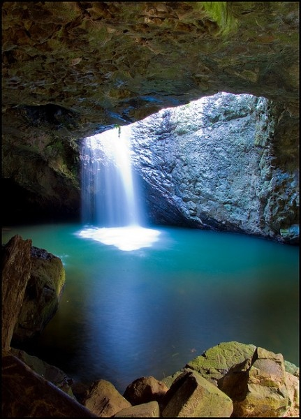 Hidden Away In The Scenic Beauty Of The Natural Bridge