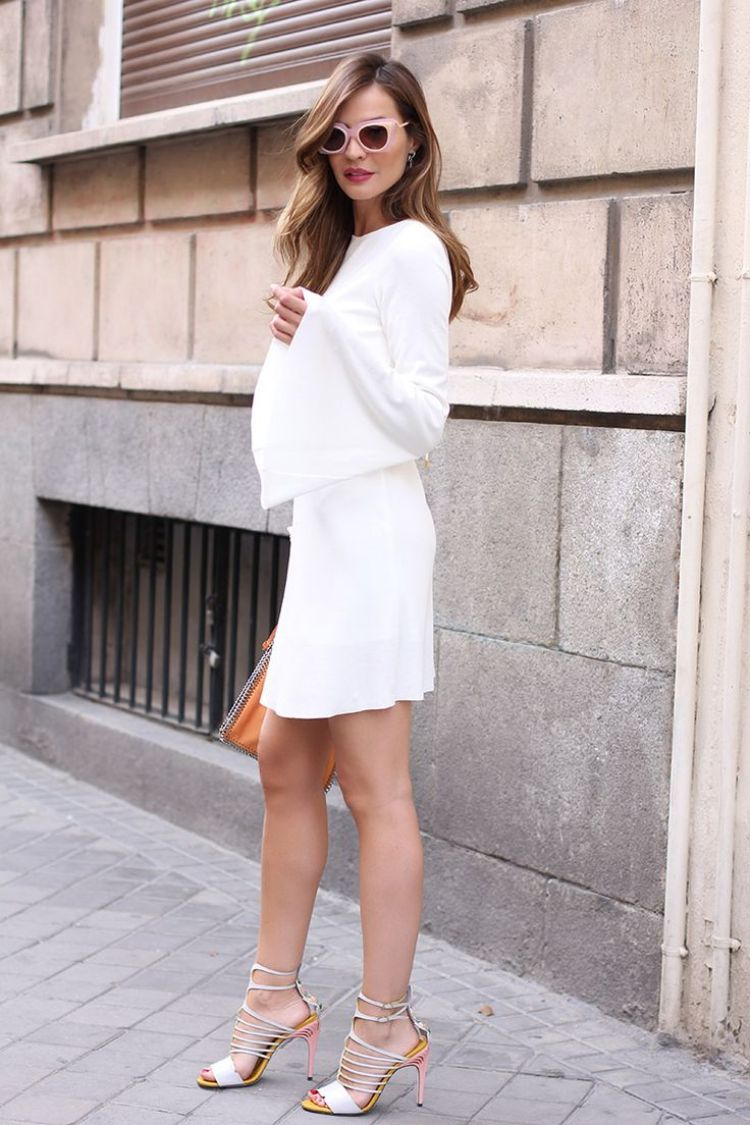 14 Style Tips How To Wear White Dresses This Summer ...