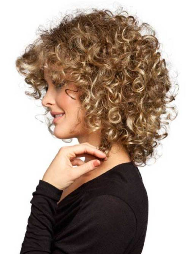 delightful wavy curly hairstyles