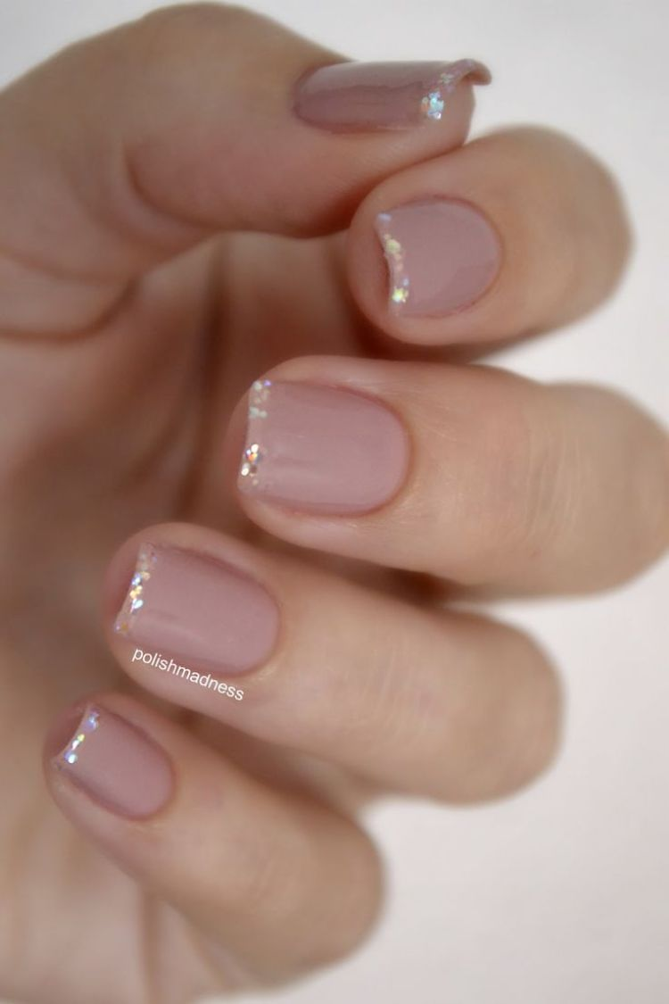 30 beautiful french manicure ideas nail polish trends barely there nude french nails urmus Image collections