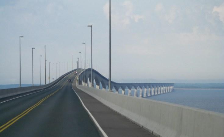 Confederation Bridge New Brunswick to Prince Edward Island