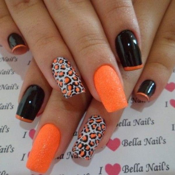 Art Designs: 60 Stylish Leopard And Cheetah Nail Designs That You Will