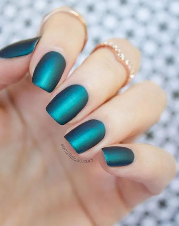 Nail Art Designs With Green Nail Polish Creative Touch