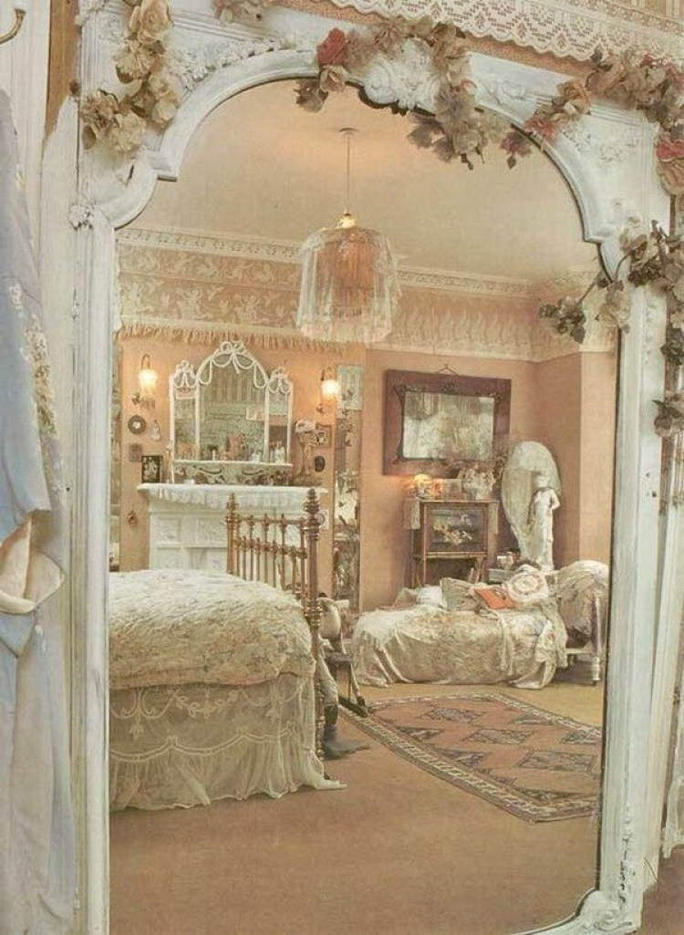 33 cute and simple shabby chic bedroom decorating ideas for Arredo giardino shabby chic