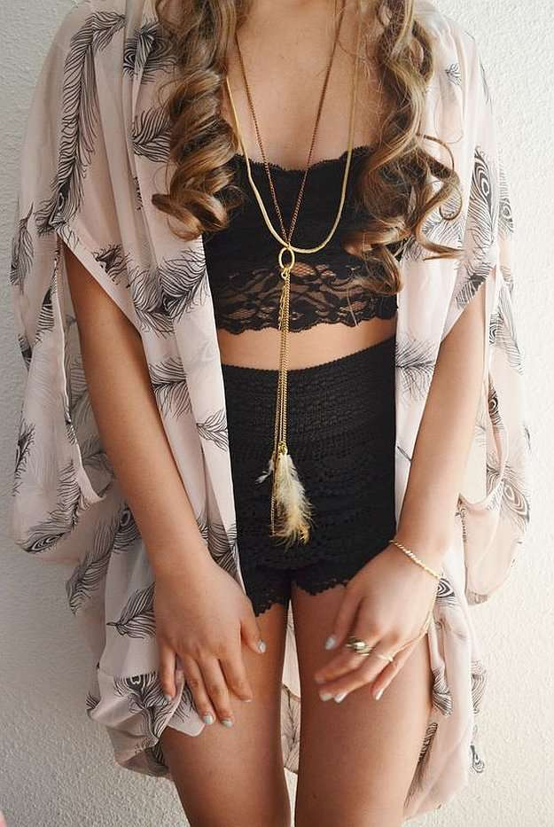 60 Best Images About Style Scarves On Pinterest: 70 Cute And Cool Summer Outfit Ideas You'd Love To Wear