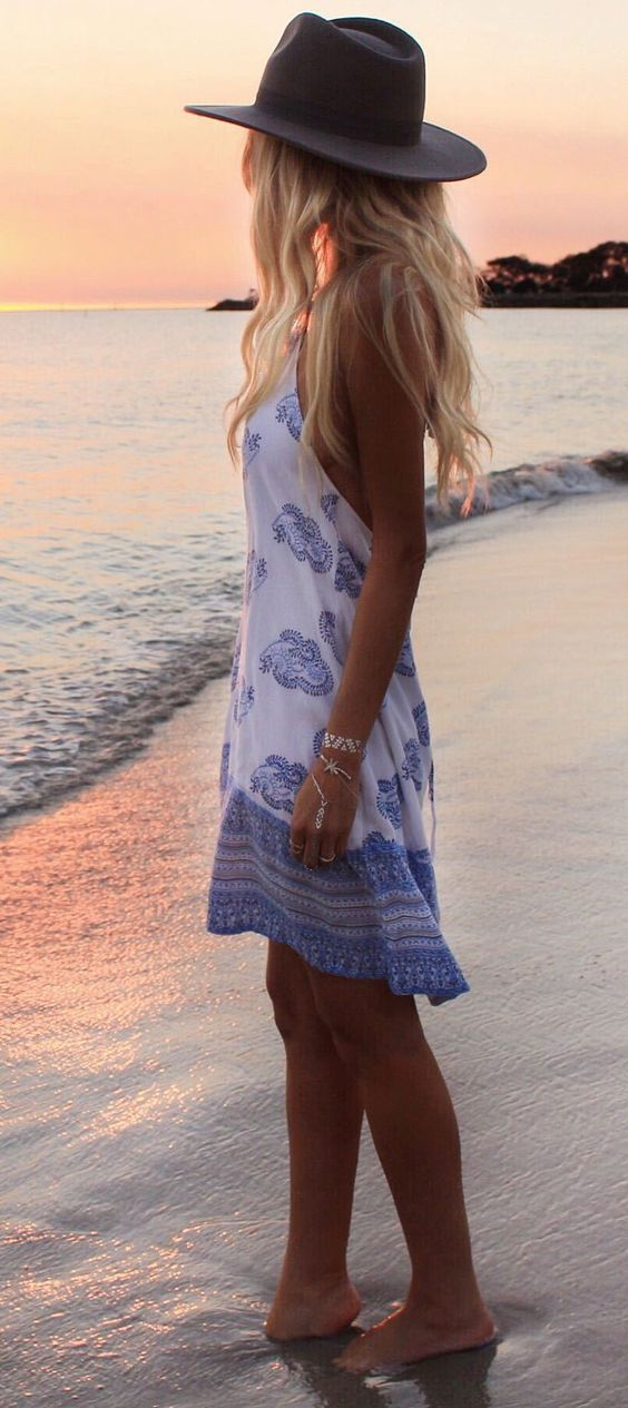 Cute Summer Outfits For Vacation: 75 Cute Summer Dresses Collection To Try Right Now