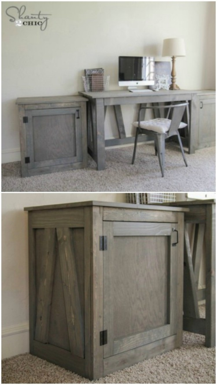 Creative Diy Rustic Storage Ideas To Organize Your Home