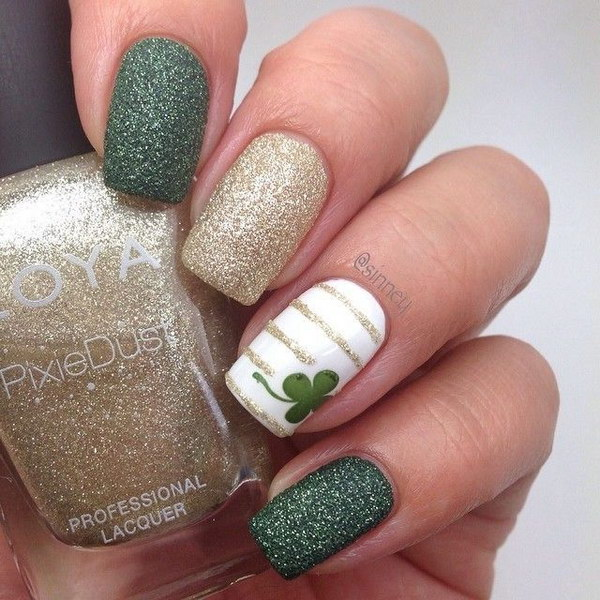 40 Elegant and Amazing Green Nail Art Designs That Will Inspire You ...