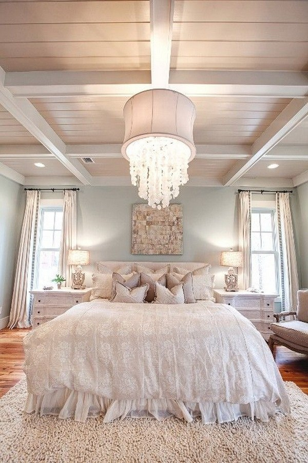 33 Cute And Simple Shabby Chic Bedroom Decorating Ideas ... on Simple But Cute Room Ideas  id=17147
