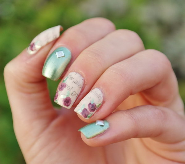 40 Elegant And Amazing Green Nail Art Designs That Will Inspire You