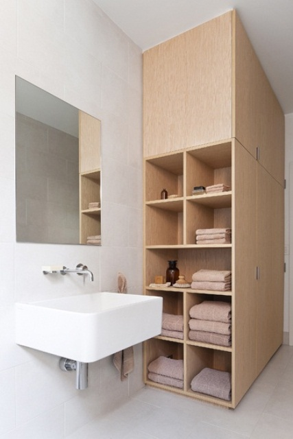 Practical Bathroom Storage Ideas @EcstasyCoffee - 12