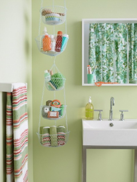 Practical Bathroom Storage Ideas @EcstasyCoffee - 22