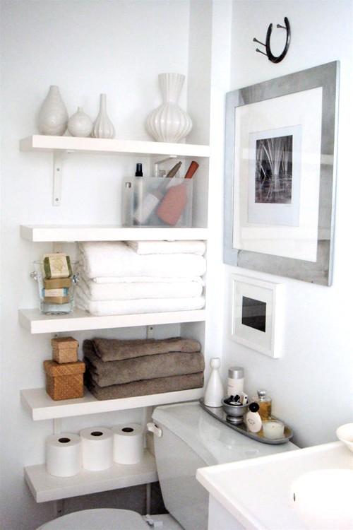 Practical Bathroom Storage Ideas @EcstasyCoffee - 24