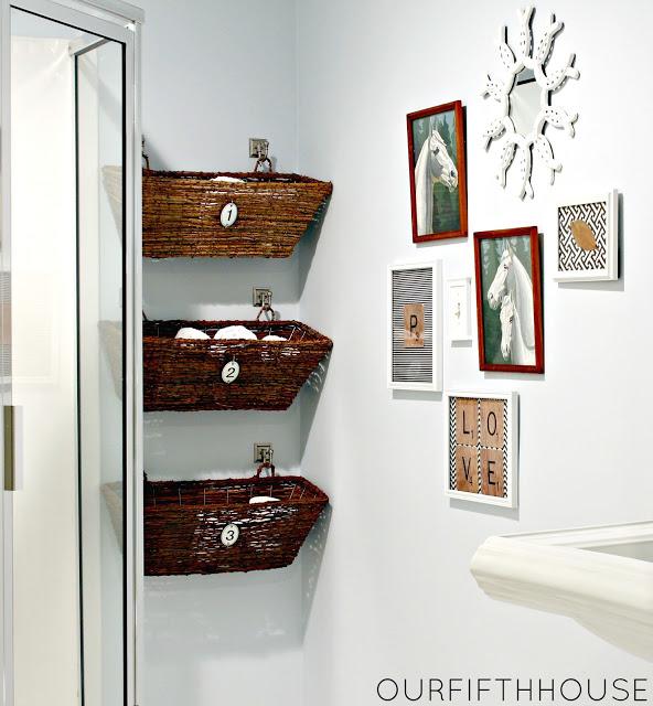 Practical Bathroom Storage Ideas @EcstasyCoffee - 30
