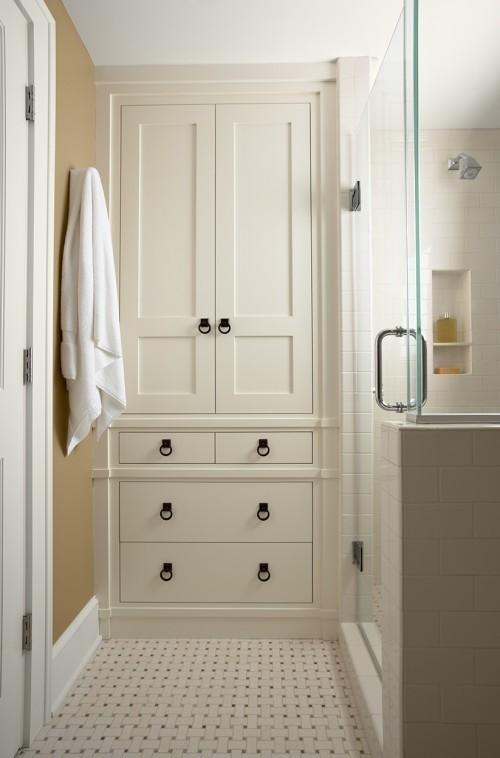 Practical Bathroom Storage Ideas @EcstasyCoffee - 46