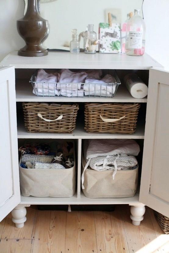 Practical Bathroom Storage Ideas @EcstasyCoffee - 9