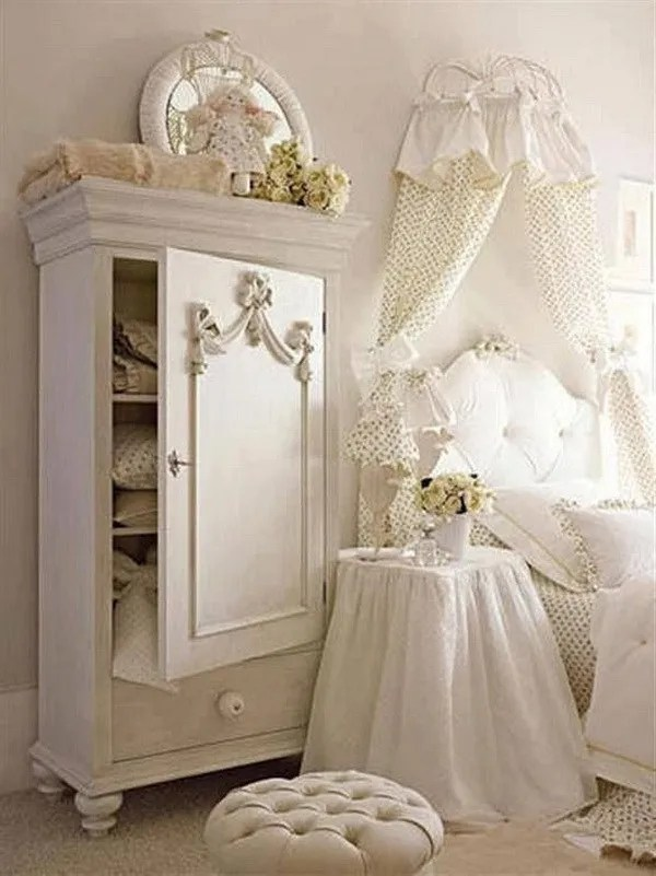 33 Cute And Simple Shabby Chic Bedroom Decorating Ideas ... on Simple But Cute Room Ideas  id=18643