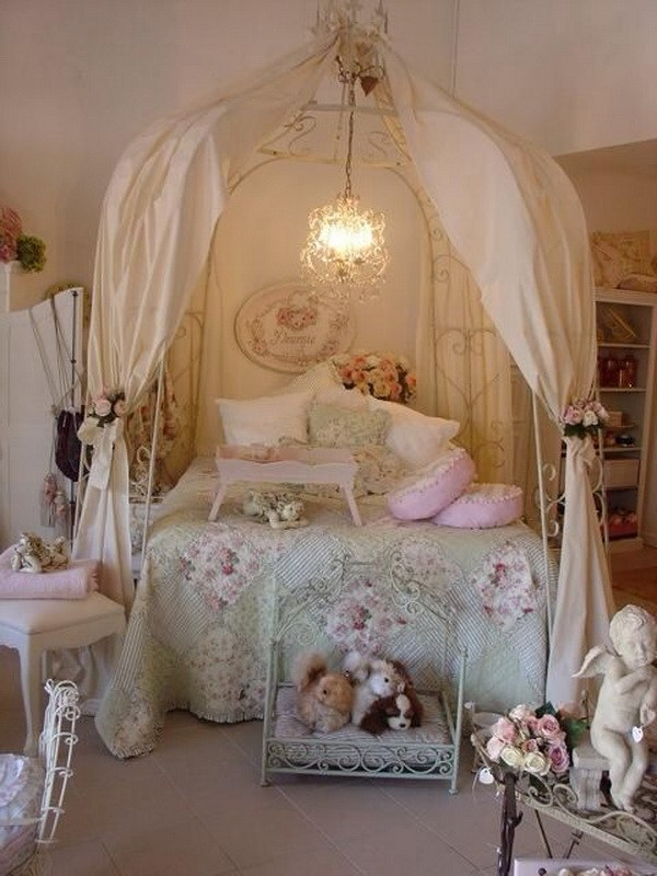 33 Cute And Simple Shabby Chic Bedroom Decorating Ideas ... on Simple But Cute Room Ideas  id=40580