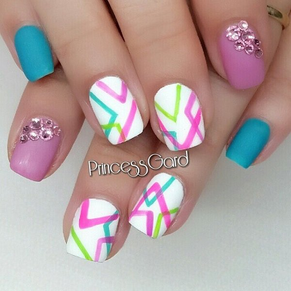 Ideas Of Nail Art: 80 Summer Nail Art Designs & Ideas That You Will Love