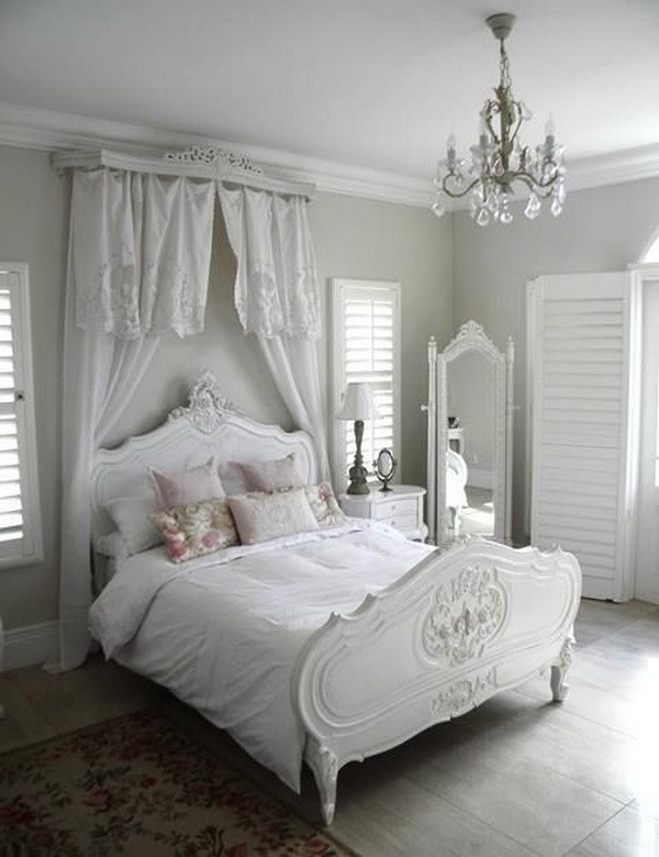French Country Bedrooms Decorating Ideas Shabby Chic